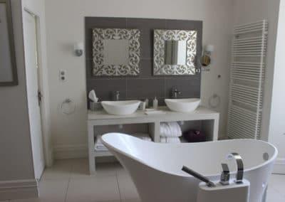 Suite patio salle de bain